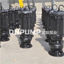 无堵塞大口径污水泵图片