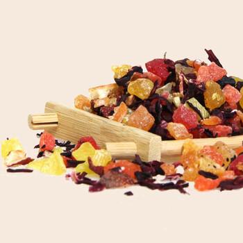 真嘻欢优质原材料蓝莓物语花果茶盒装饮品蓝莓物语茶厂家直销