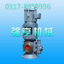 江苏强亨机械SNS立式三螺杆泵常用于沥青重燃油重齿轮油等介质的输送