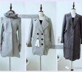 高端货品美丽衣橱呢大衣外套品牌折扣女装尾货走份