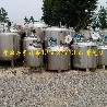 供应二手304不锈钢材质5方10方30方不锈钢储罐搅拌罐发酵罐