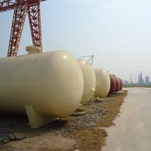 中杰特装液化气地埋储罐,上海80立方液化气储罐安装方案图片