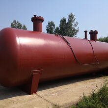 河北承德30立方50立方液化氣儲罐石油氣儲罐圖片