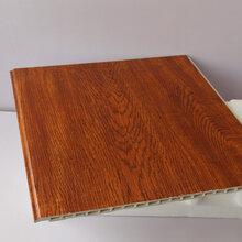 护墙板ζ 竹木纤维板集成墙板快装板生态木图片