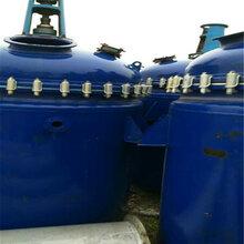 供应二手电加热反应釜2000L不锈钢反应釜高压反应釜.二手搪瓷反应釜