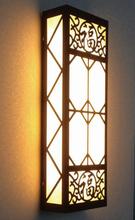 中山市厂家直销镀锌板激光切割户外620MM中式照明壁灯兆圆品牌图片