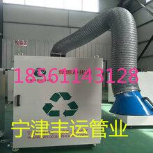 丰运供应进口尼龙布高温风管机械设备废气排放伸缩管焊烟净化器钢丝管