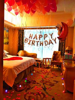 长沙生日宴布置成人生日宴布置怎样才能别出新栽?攸悦气球-私人定制