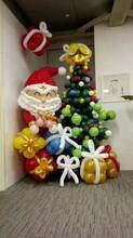 長沙圣誕布置-長沙氣球布置-禮儀慶典-年會場地布置圖片