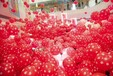 长沙气球布置-气球下落雨-公司年会策划设计