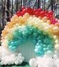 节日气球布置