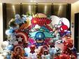 复仇者联盟主题布置生日宴策划布置,成人礼策划布置图片