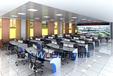 广西梧州市钢木铝混合调度台的特点指挥大厅研判桌