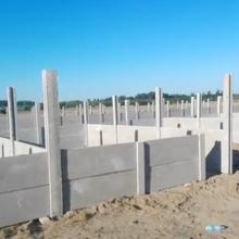 水泥圍墻A安陽2米高院落磚墻替代品A水泥圍墻規格