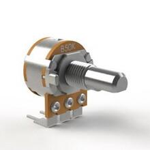 深圳厂家R1610-138大湾脚电位器开关可调电位器编码器开关