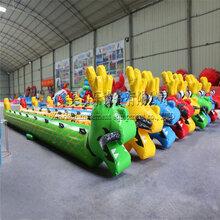 充气陆地龙舟趣味运动会团队游戏拓展训练旱地龙舟年会游戏器材