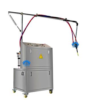 久耐機械聚氨酯ab膠混膠機pu膠輥澆注機