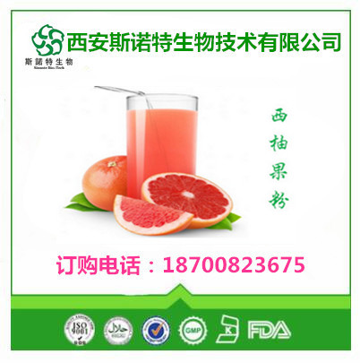 柚子粉100%水溶有第三方检测源头厂家天然柚子果粉