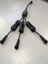 防水公母插头连接器图片