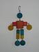 棉绳鸟玩具编织绳咬绳搪胶宠物玩具