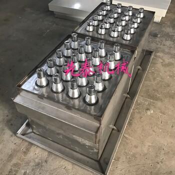 先泰牌XTA-1000S振動式銅件連體雙槽超聲波鼓泡過水清洗機