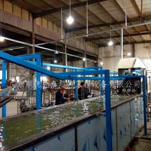 浙江水壶拉伸油清洗线吊挂式超声波喷淋清洗烘干机厂家图片
