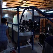 定做悬挂式不锈钢压力锅清洗线抛光蜡超声波清洗烘干机厂家图片