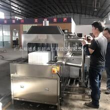 广州工业食品胶筐胶箱自动化清洗机塑料筐除油除尘清洗机图片