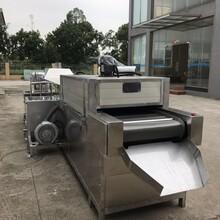 定制丝杆除油网带式超声波清洗喷淋过水清洗烘干机图片
