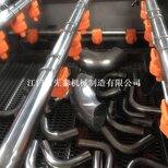 不锈钢卡压管专用清洗机环压管超声波喷淋清洗烘干线