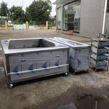 现货熔喷喷丝板超声波清洗机0.25mm孔径精密清洗机图片