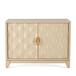 美式方形餐边柜收纳柜木色新款创新小户型家用多功能款