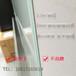 北京现货钢化防爆烤漆玻璃白板挂式超白圆角玻璃白板