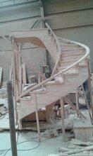 北京别墅楼梯制作厂家实木楼梯图片