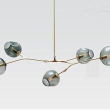 现代艺术设计灯新古典后现代吊灯北美现代灯专供装修设计公司的灯具图片