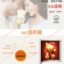 江阴大健红外科技0506型碳晶弧形办公暖图片