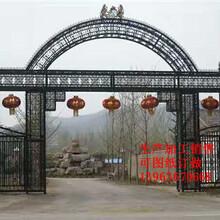 厂家直销各种铁艺大门铝艺门艺术门铁门图片