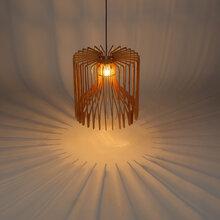 贝司达灯饰中山照明行业创意时尚吊灯现代木艺灯