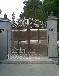 不銹鋼庭院大門歐式別墅門自動門