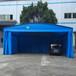 直销专业定制大型仓库帐篷工地帐篷物流推拉蓬移动遮阳雨棚