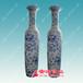 景德镇陶瓷花瓶定制3米大花瓶落地大花瓶价格乔迁礼品大花瓶