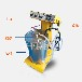 静电粉末喷涂机静电发生器设备静电喷粉机