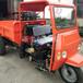 建筑工地拉混凝土沙土运输车水泥材料拉货车