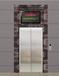 青铜拉丝板电梯门套