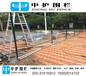 萝岗公园篮球场围栏网铁丝包塑勾花网球场围网使用年限