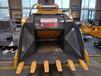 卡特320挖掘机破碎斗挖机破碎铲斗料场搅拌站专用挖掘机配件