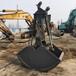 黑龙江哈尔滨小松挖机抓沙斗挖机液压抓煤斗厂家