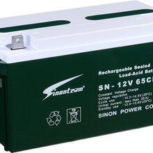 免维护蓄电池原装赛能天力蓄电池12V65AH免维护蓄电池
