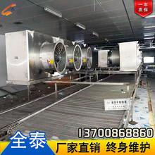 网带速冻机厂家批发,急速制冷平板速冻机,饺子专用速冻生产线图片