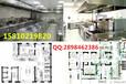 北京餐厅后厨白钢设备厨房油烟处理排烟罩后厨不锈钢炒菜灶台快餐店后厨配套机器